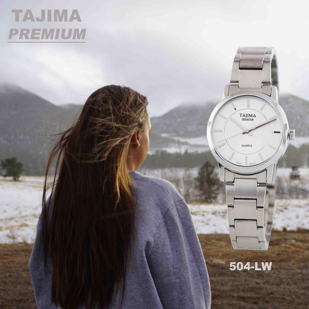 Jam Tangan Tajima Daftar Harga Desember 2018 Analog Watch 3813 Date Garansi 1 Tahun Pria Ampamp Wanita Premium 504 Original