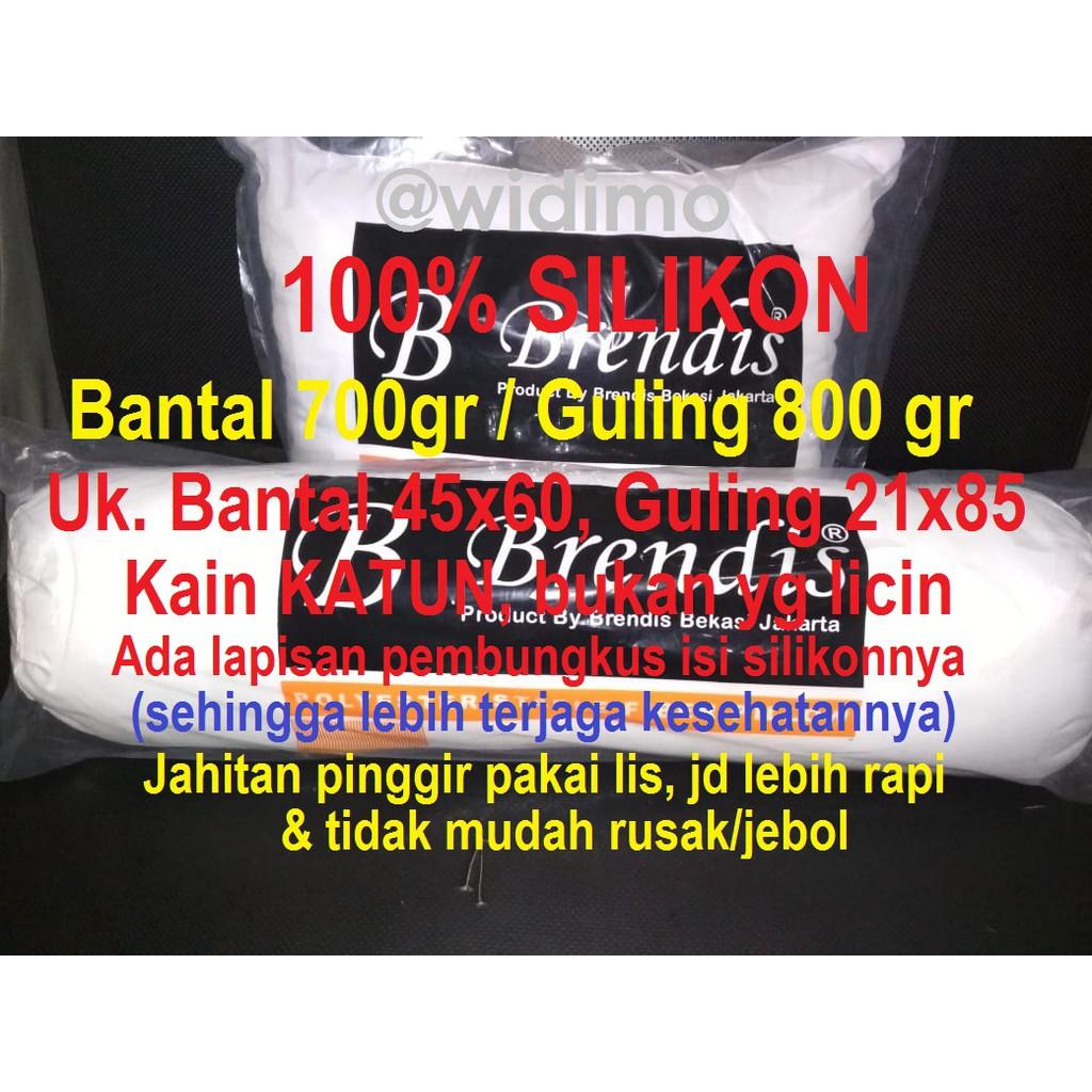 Promo Paket Isi 4 Bantal Guling Silicon Asli Azzda Dacron Ampamp Yuki Springbed Sepasang Shopee Indonesia