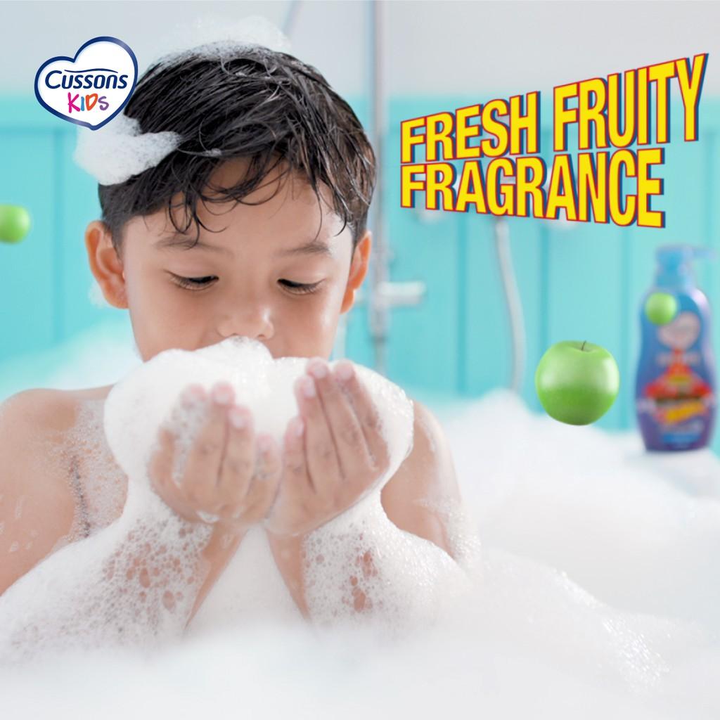 Cussons Kids Shampoo Hot Wheels Fresh & Nourish 200ml-6