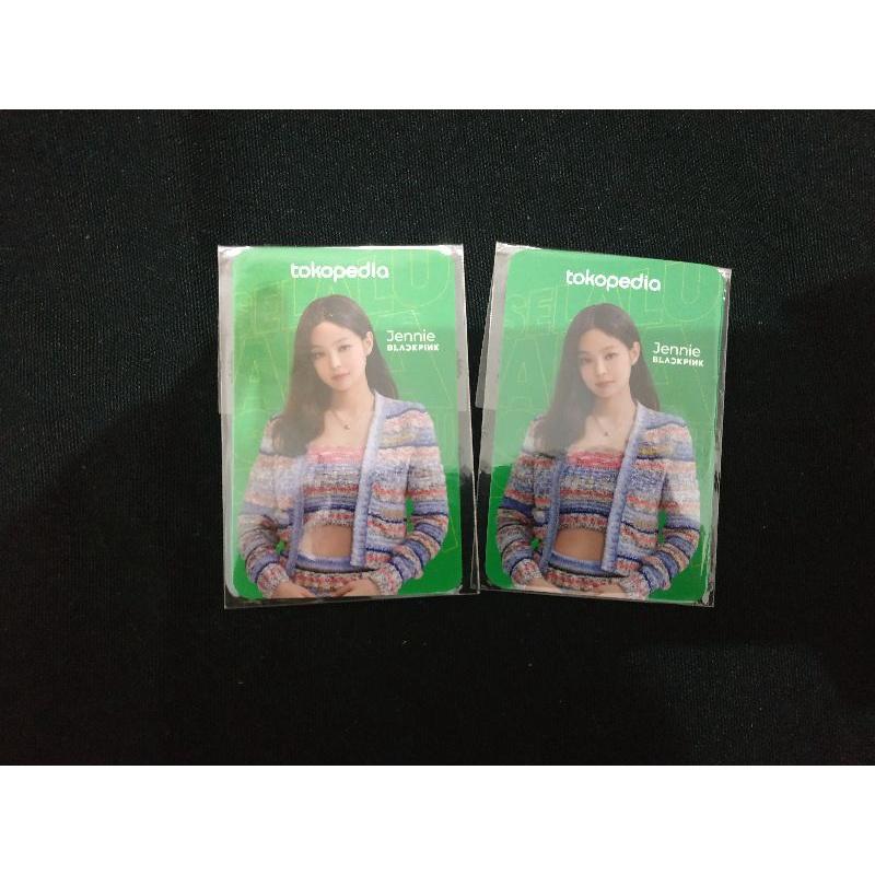 Photocard PC BLACKPINK Jennie - Toko Hijau
