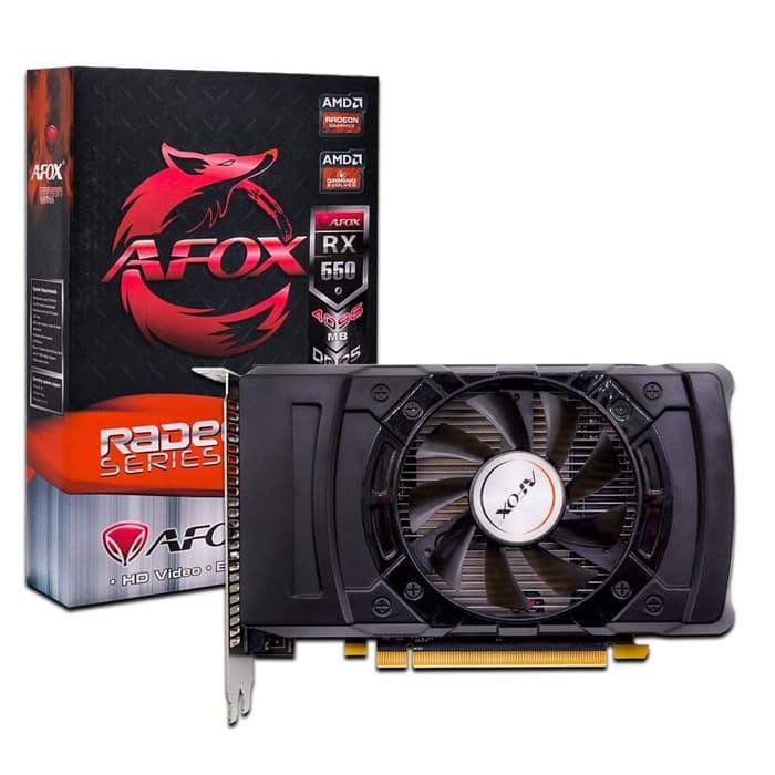 AFOX Radeon RX 550 4GB | Shopee Indonesia