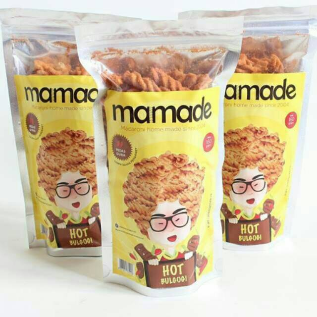 Mamade Makaroni | Shopee Indonesia -. Source. ' Mamade Makaroni Xtremee Hot - Cemilan