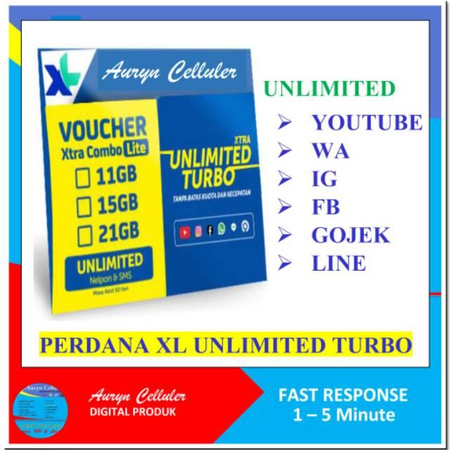 Xl Kartu Perdana Unlimited Turbo Shopee Indonesia