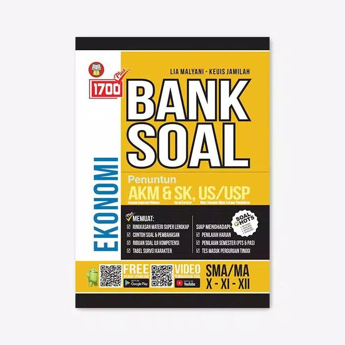 Buku 1700 Plus Bank Soal Akm Ekonomi Sma Ma Kelas X Xi Xii Shopee Indonesia