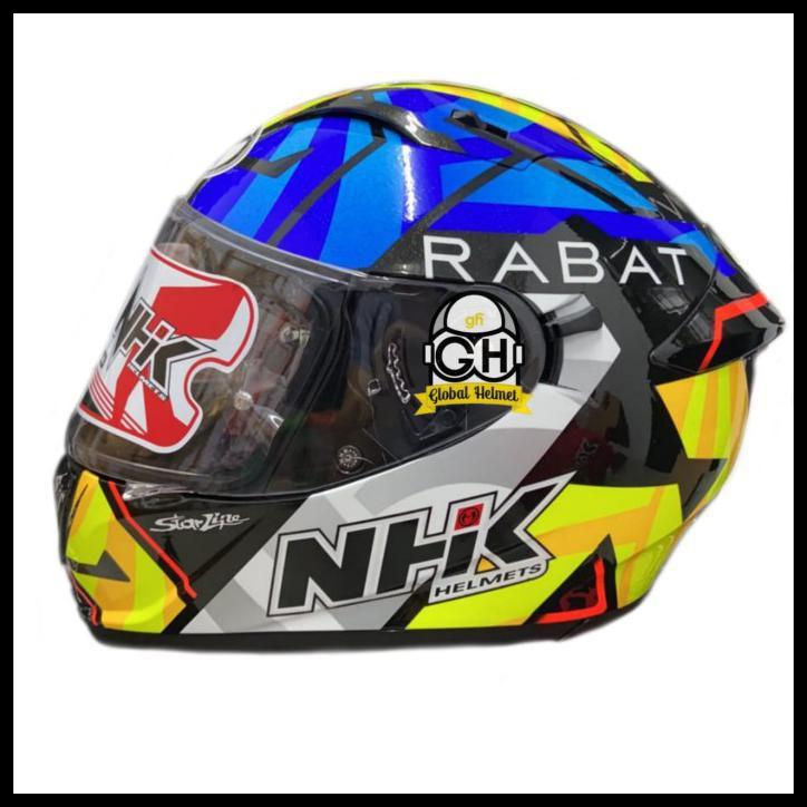 Helm Nhk Gp Prime Motif Tito Rabat Black Glitter Nhk Gp Race Edition - M Ohm190