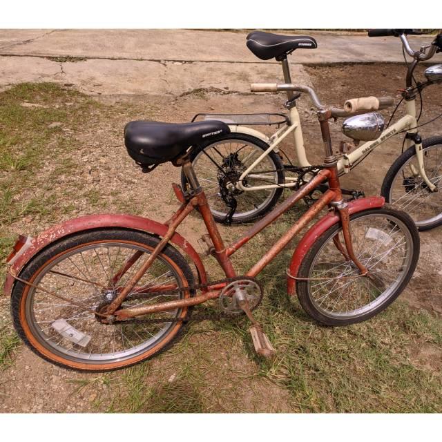 Sepeda Mini Minion Vintage Jengki Gudel Langka Murah Ukur 20 Shopee Indonesia