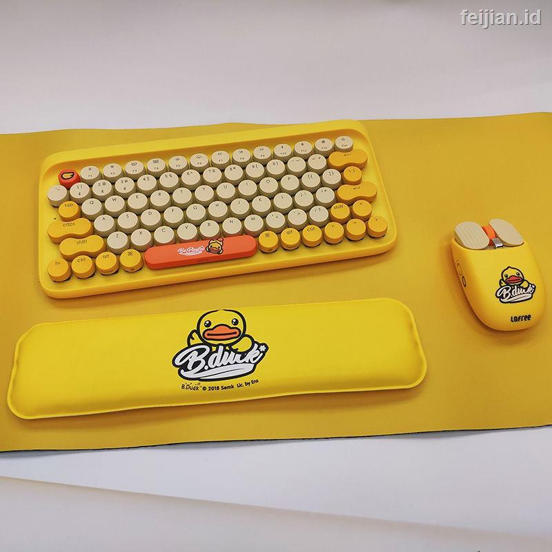 Lofree Fiji Keyboard Mekanik Wireless Bluetooth Desain Bebek Kuning Untuk Komputer Kantor Shopee Indonesia