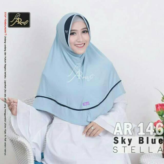 ORI ARRAFI   Bergo Veena AR71N - best seller hijab jilbab instan kerudung  best seller  967b308def