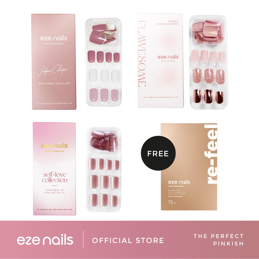 THE PERFECT PINKISH – Eze Nails Bundling