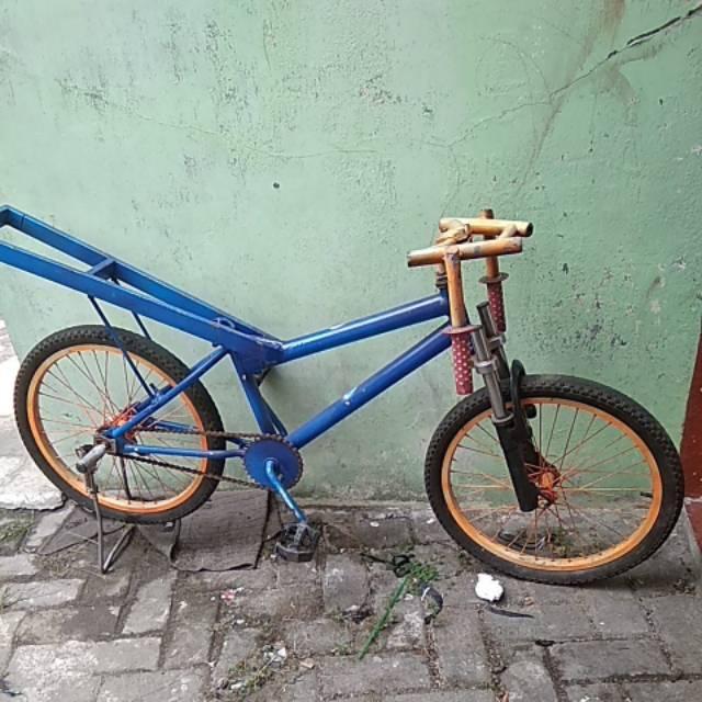 Gambar Modifikasi Sepeda Ontel Drag Sepeda Drag Shopee Indonesia