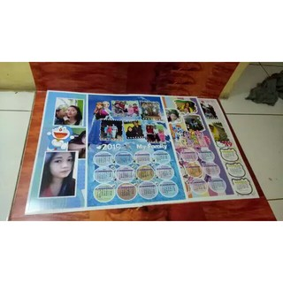 Kalender 2021 unik Custom photo & karakter A3 | Shopee ...