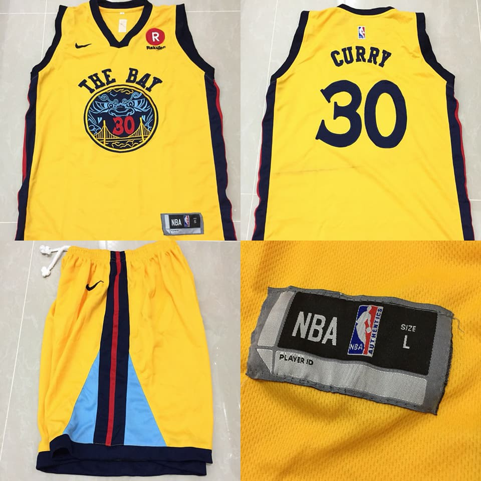 Jersey Basket NBA Golden State Warriors The Bay   Stephen Curry
