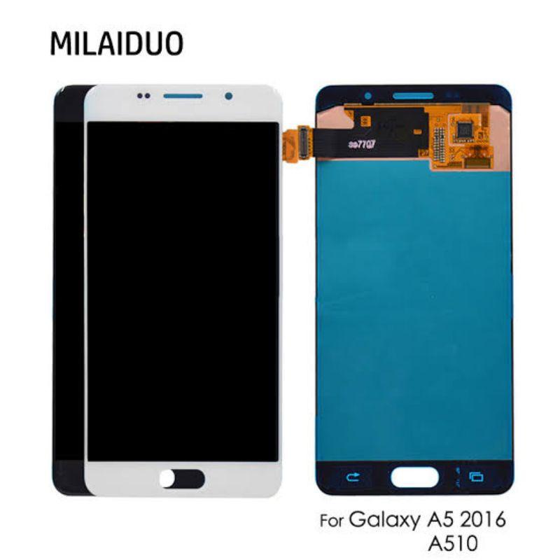 LCD SAMSUNG A5 2016 A510 ORI OLED FULLSET
