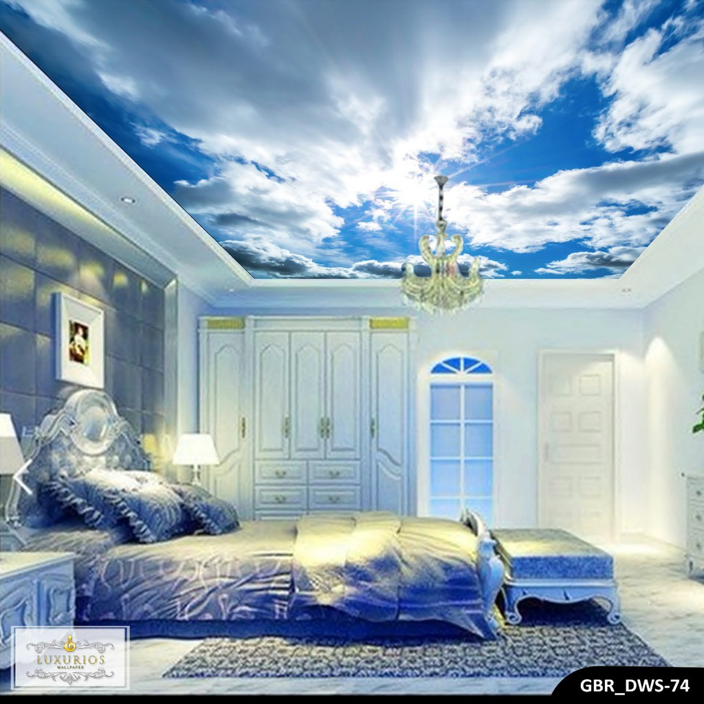 WALLPAPER 3D WALLPAPER CUSTOM WALLPAPER PLAFON AWAN