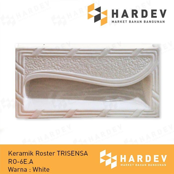 ROSTER KERAMIK 20X40 RO-6EA COLONIAL PUTIH Merk Trisensa