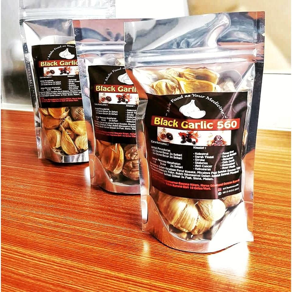 Black Garlic Tunggal Bawang Hitam Lanang Dejanu 145 Gram Shopee 500 Gr Indonesia