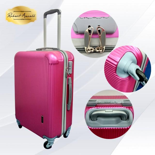 uNiQue Travel Luggage Koper Kabin Hardcase Speedlite 20 inch - Biru | Shopee Indonesia