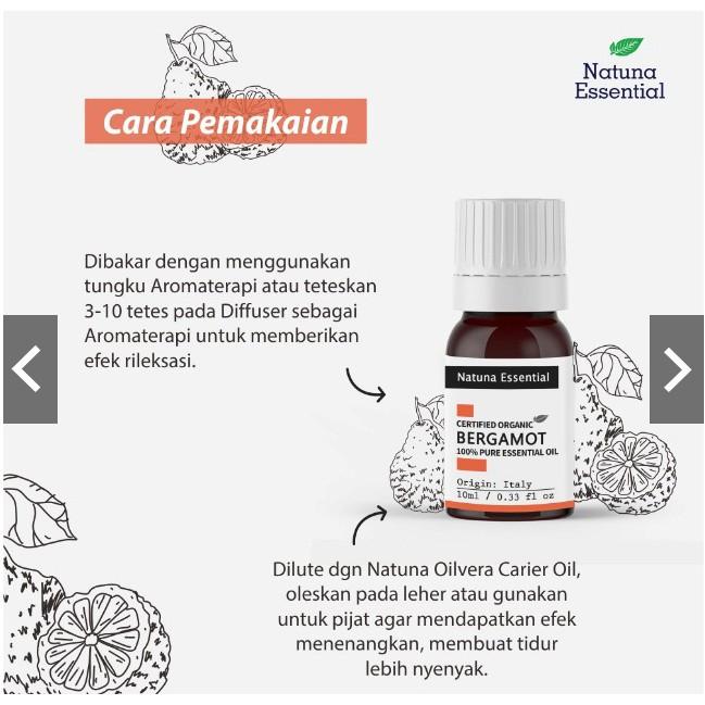 Aroma Terapi Bergamot Minyak Esensial Atsiri Diffuser Essential Oil Therapeutic Grade Shopee Indonesia