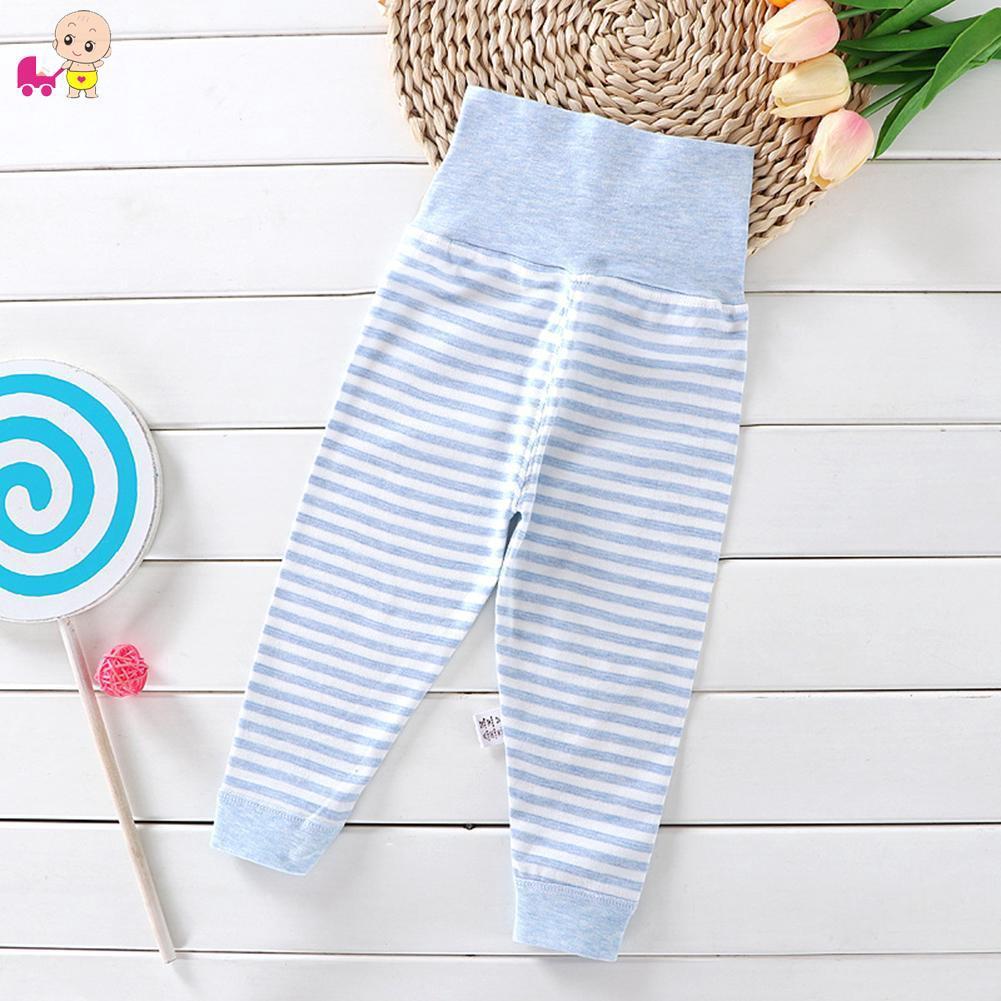 Celana Legging Anak Dengan Model High Waist Dan Bahan Katun Motif Garis Garis Untuk Musim Gugur Shopee Indonesia