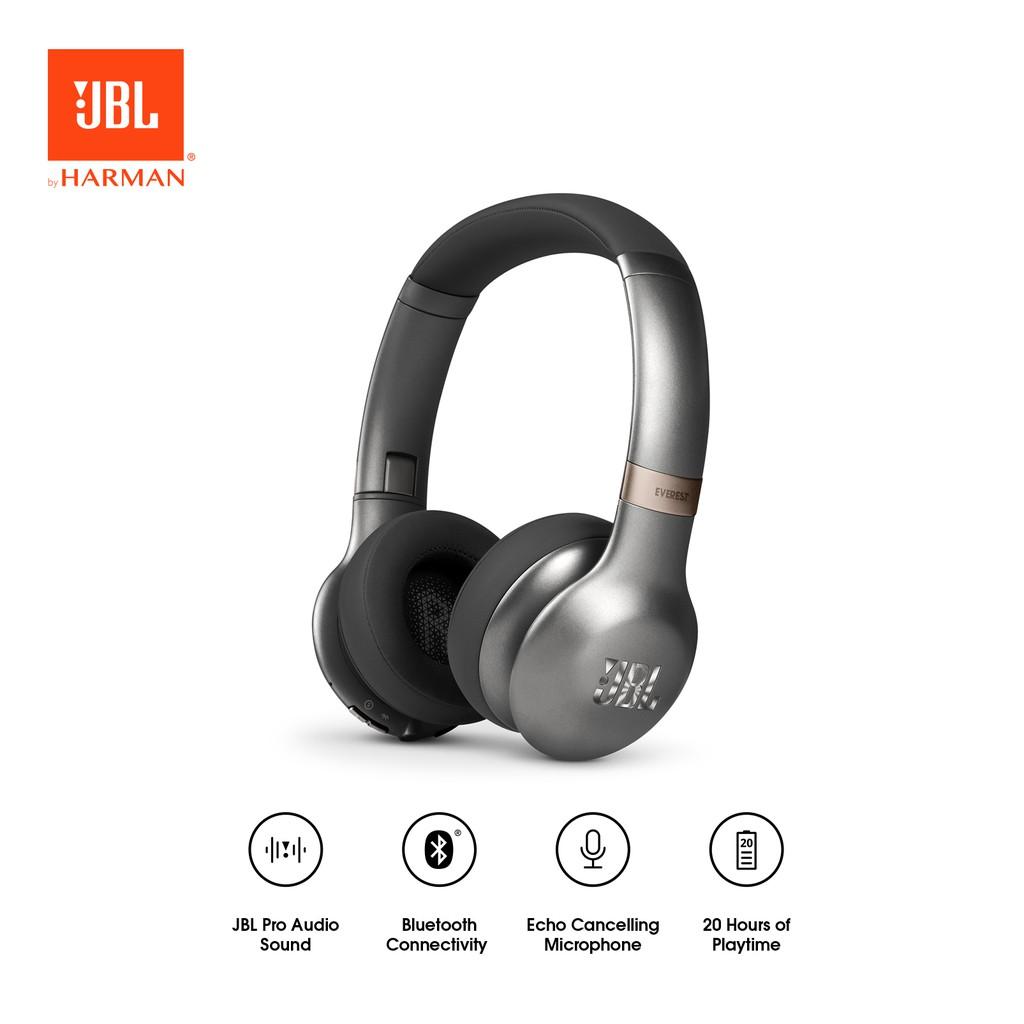 JBL Everest 310 On-Ear Wireless Bluetooth Headphones - Gun Metal (GML)