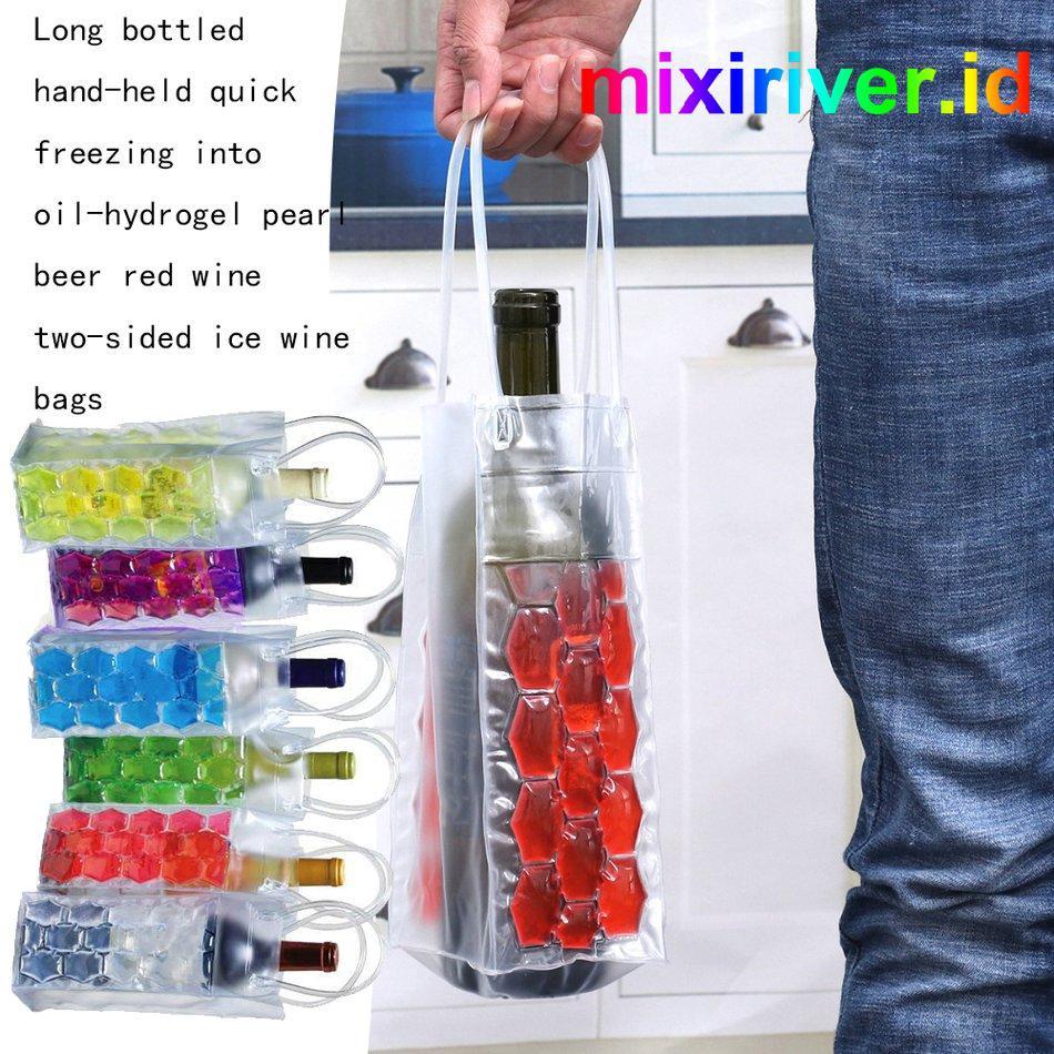Beer Wine Bag Cooler Freeze Bag Gel Pack Tote Champagne Bottle Thermal bag