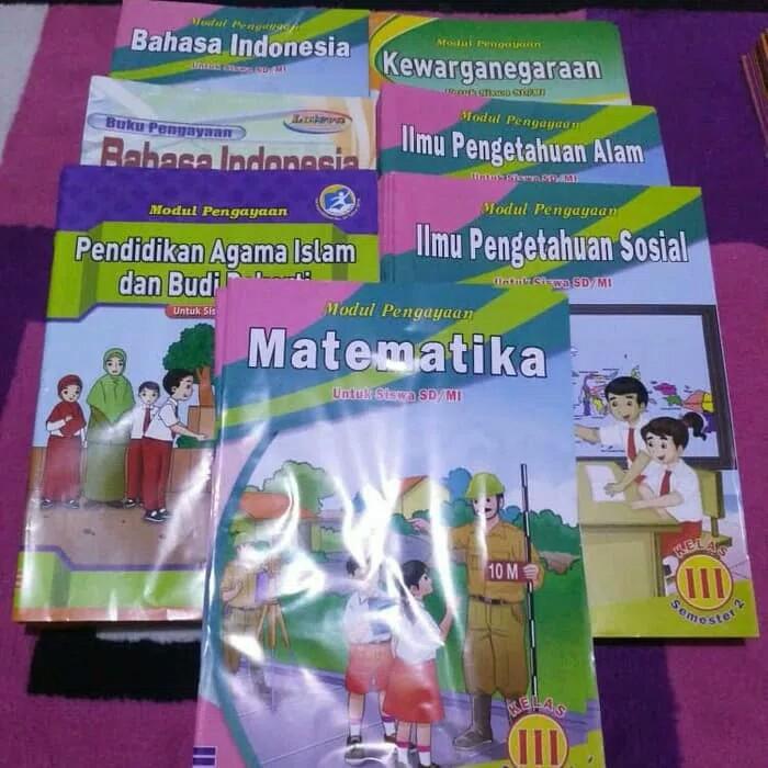 Buku Paket Bahasa Indonesia Kelas 3 Sd