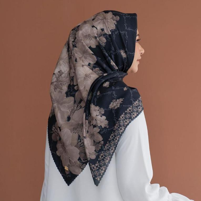 ORIGINALHijab denay segi empat Lasercut MS Hijab /kerudung motif terbaru