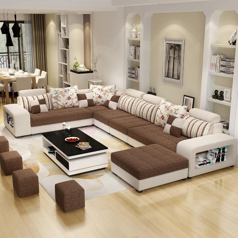 Sofa Minimalis Letter U Shape Kualitas Premium Membuat Ruang Tamu Anda Terlihat Mewah Shopee Indonesia