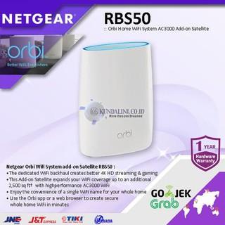 Netgear Orbi RBS50 WiFi System AC3000 Add-on Satellite