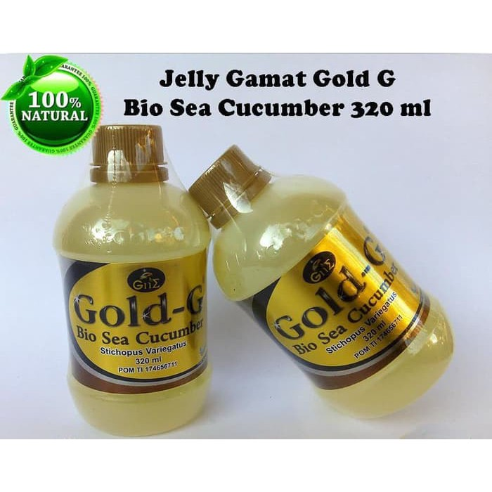 Jelly Gamat GOLD G 500 ML | Sea Cucumber Jelly ORIGINAL | Gamat Emas Gold G | | Shopee Indonesia