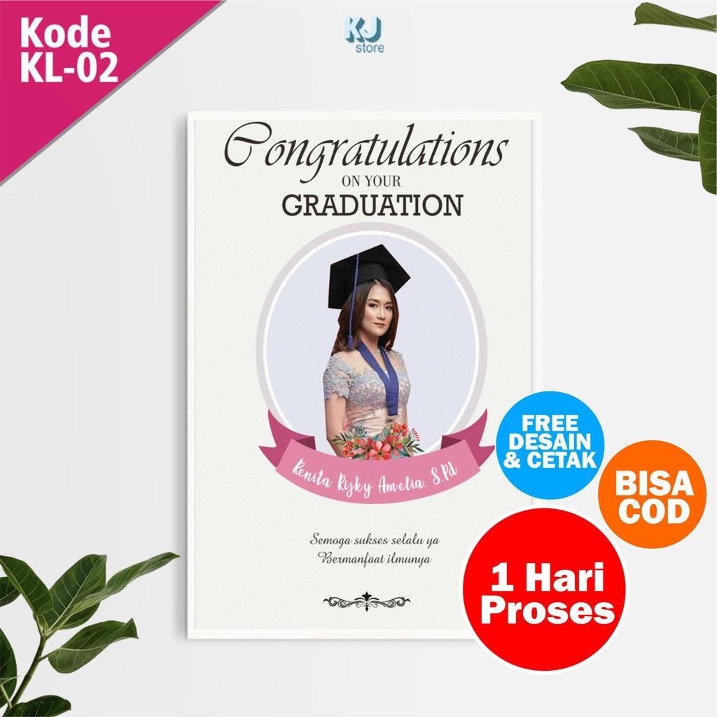 Desain+Cetak Foto Kado Hadiah Wisuda Murah Remaja SMP ...