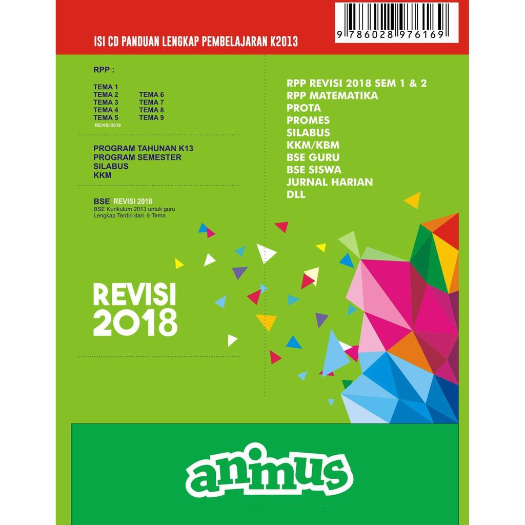 Animus Rpp K13 Sd Kelas 6 Revisi 2018 Shopee Indonesia