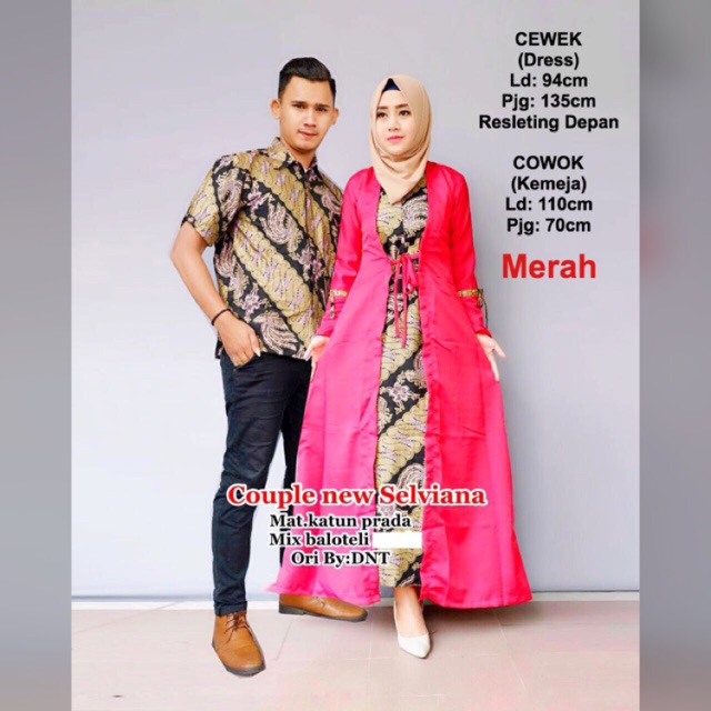 BATIK COUPLE ELEGANT   DRESS   GAMIS   HIJABERS   BUSANA MUSLIM susi fashion   17fbef9f27