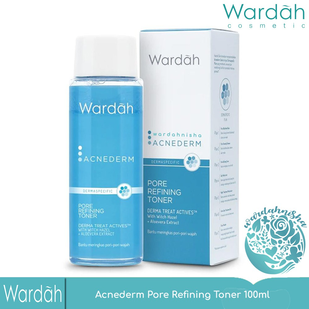 Wardah Acne Pore Tightening Toner 100ml Shopee Indonesia