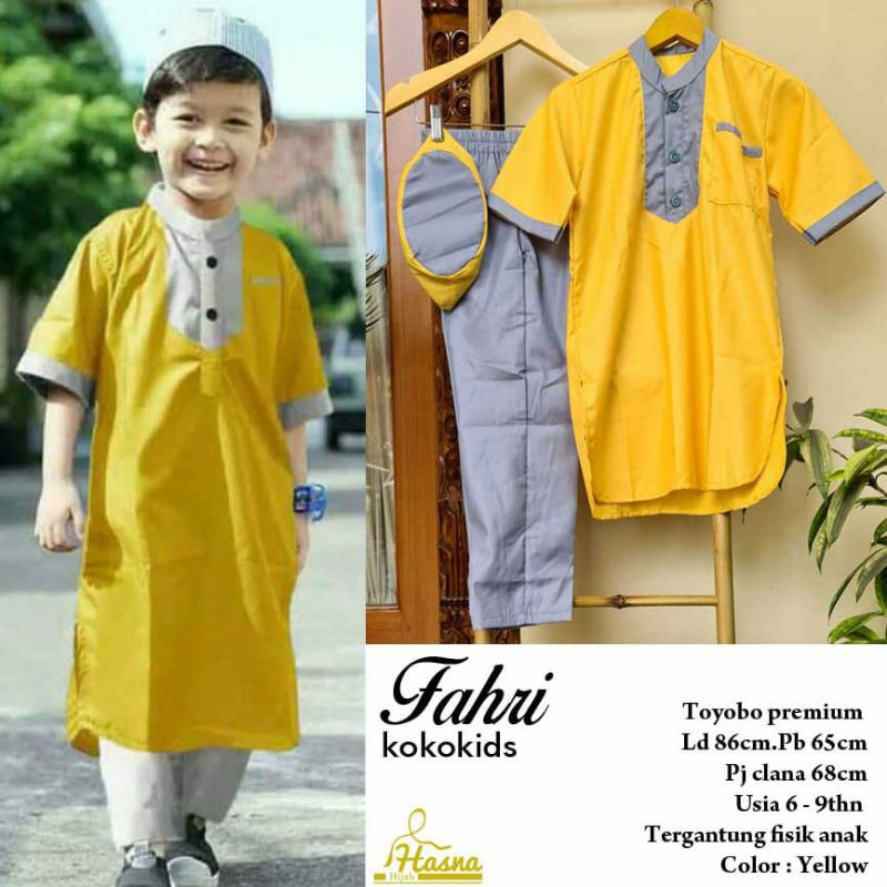 Fahri Koko Kids Set (Hasna)
