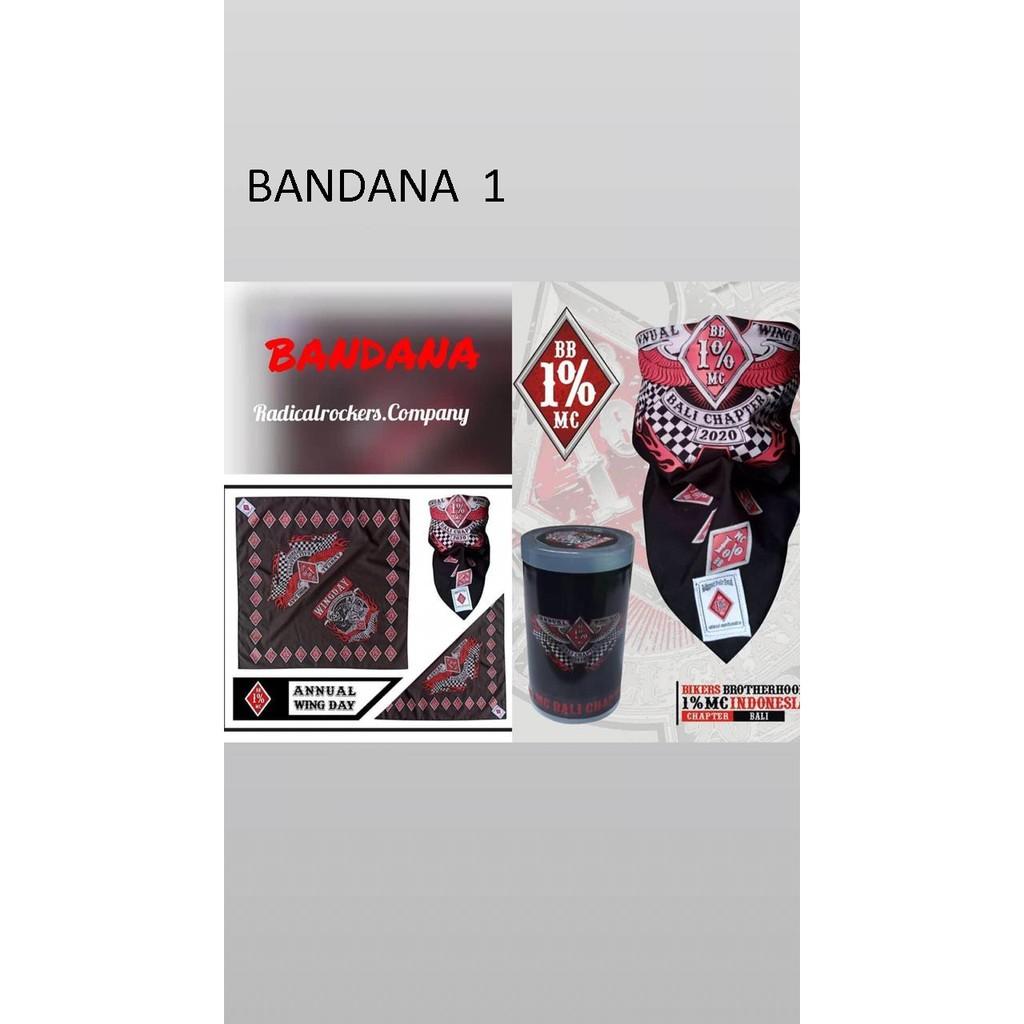 BANDANA WINGDAY BB 1% MC BALI CHAPTER