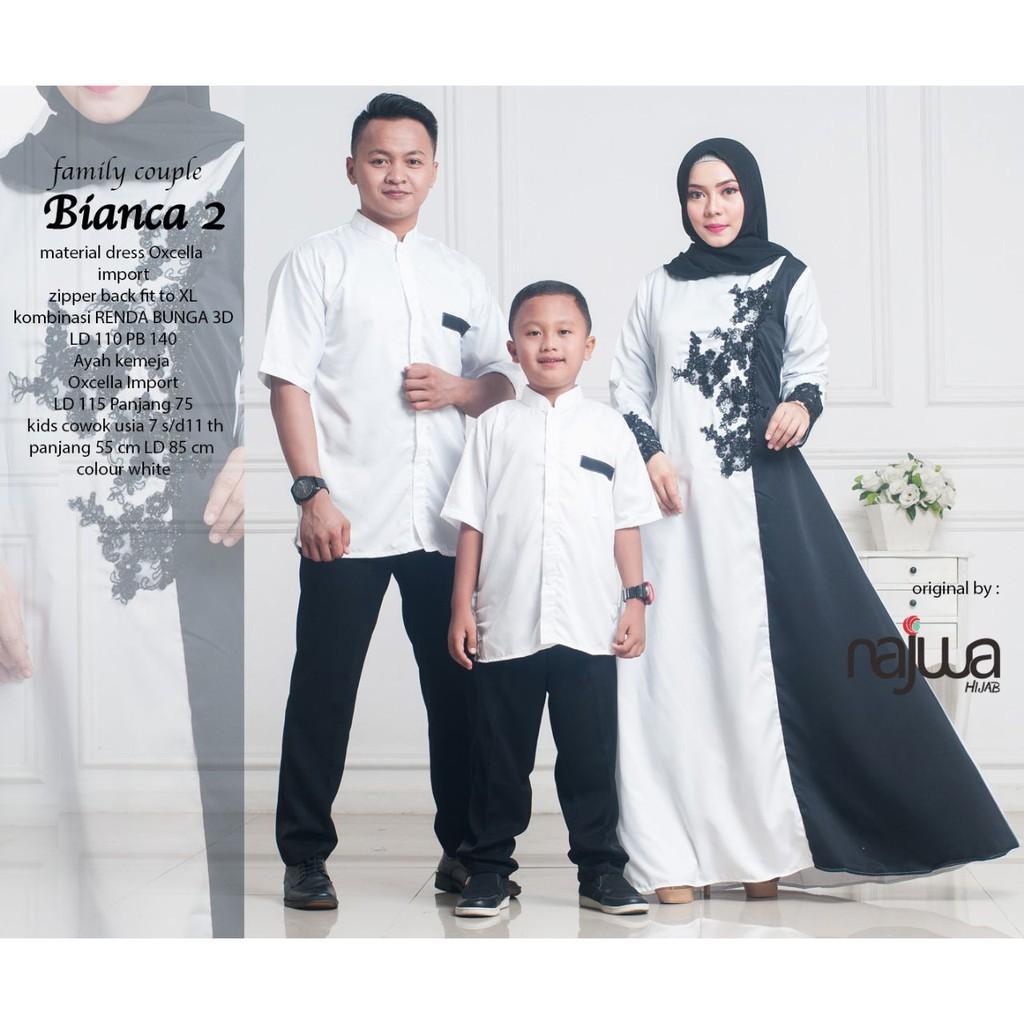 SET BATIK FAMILY Baju Couple Keluarga BIANCA ORIGINAL By Ori NAJWA