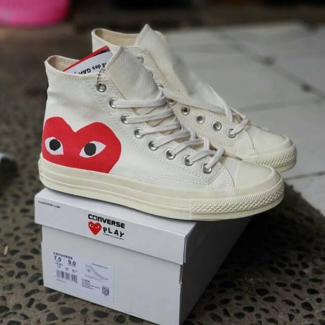 Sepatu Converse All Star Basic Ox Optical White High Original Premium Made  in Vietnam BNIB  32dcf274b8