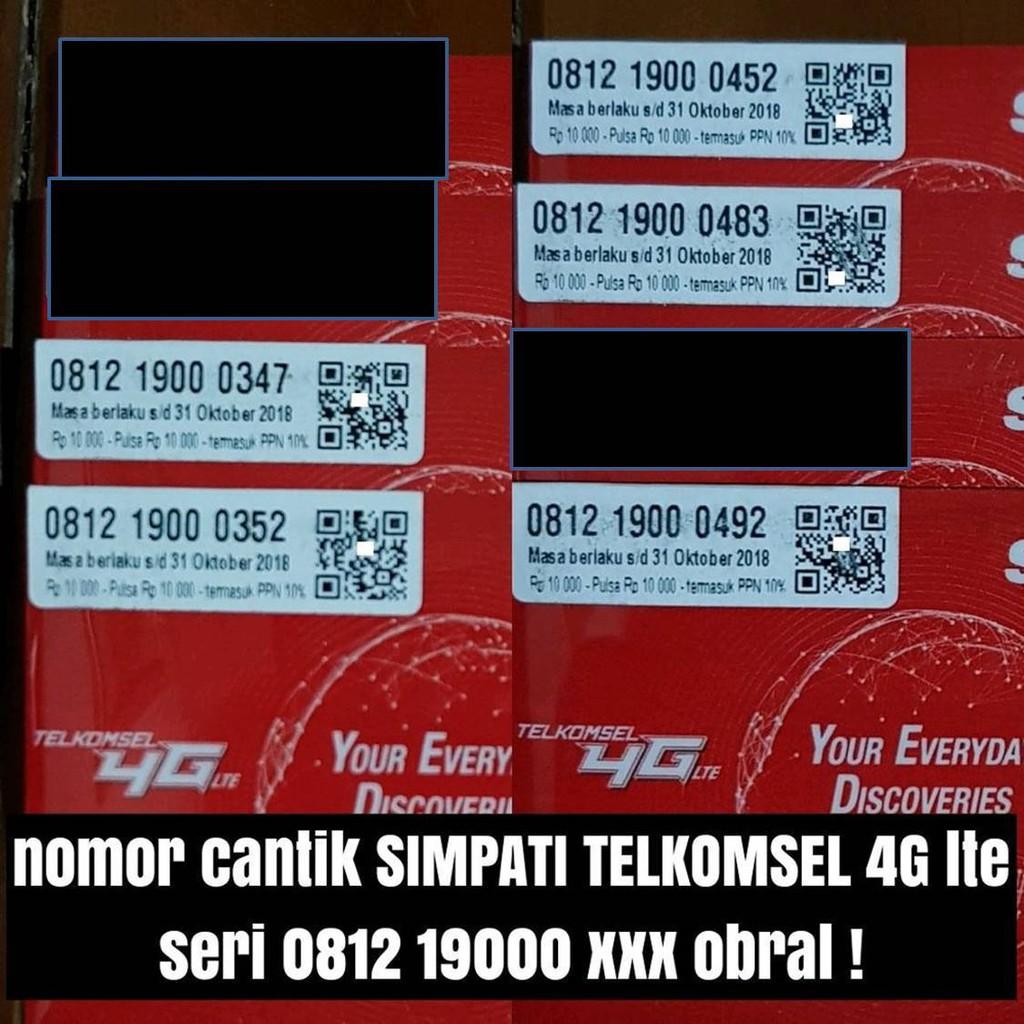 NOMOR CANTIK INDOSAT NOMER CANTIK INDOSAT KARTU PERDANA INDOSAT 4G LTE | Shopee Indonesia