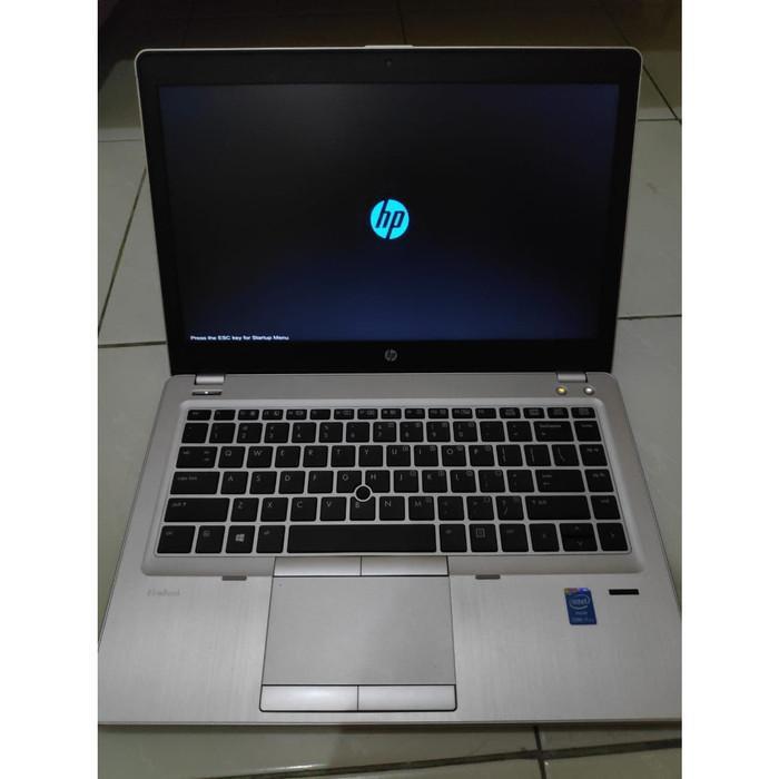 [Laptop Second] Laptop HP CORE i7 SSD RAM 8GB EliteBook FOLIO Intel Bonus Tas BARU