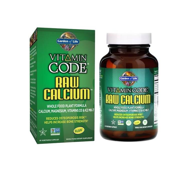Garden Of Life Vitamin Code Raw Calcium 60ct Capsules Shopee Indonesia