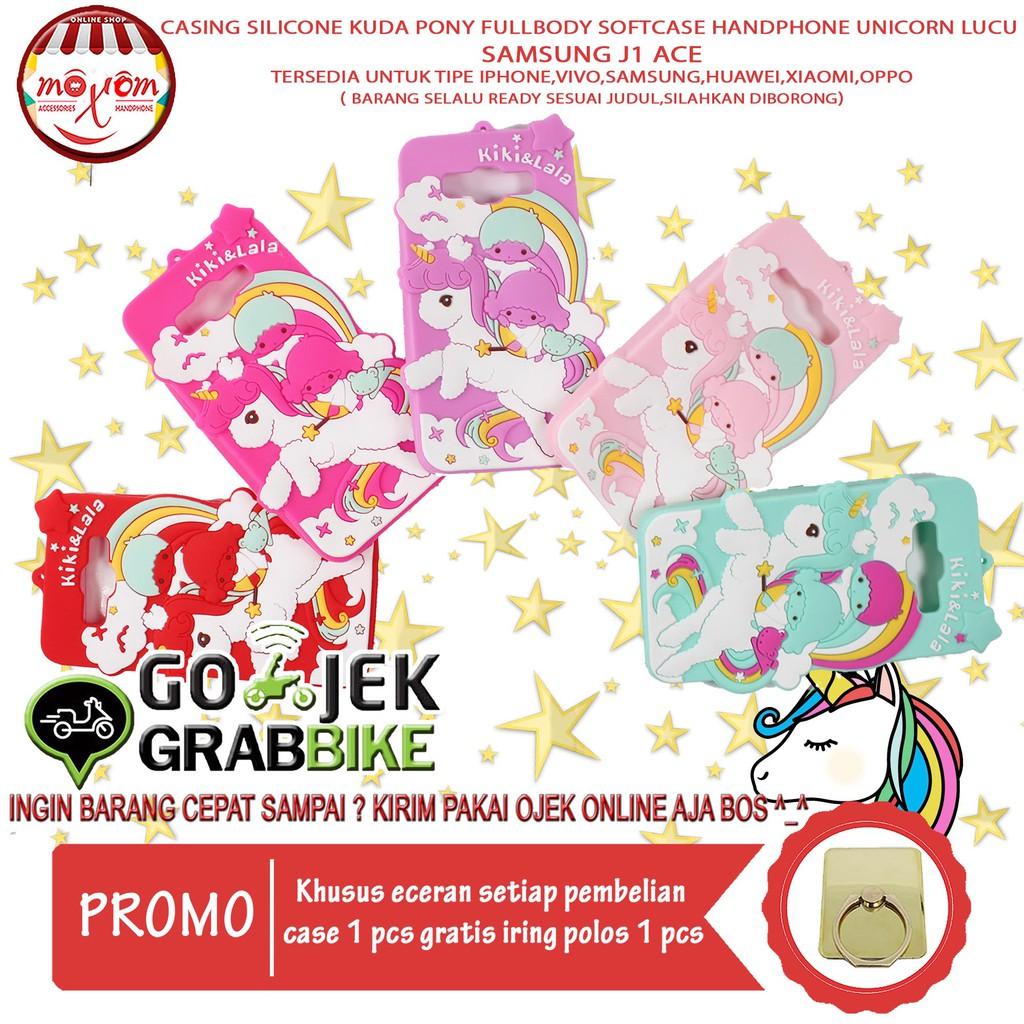 Murah Meriah Case Samsung J1 Ace Kuda Pony 3D 4D Softcase Hp Cute Little Pony Lucu