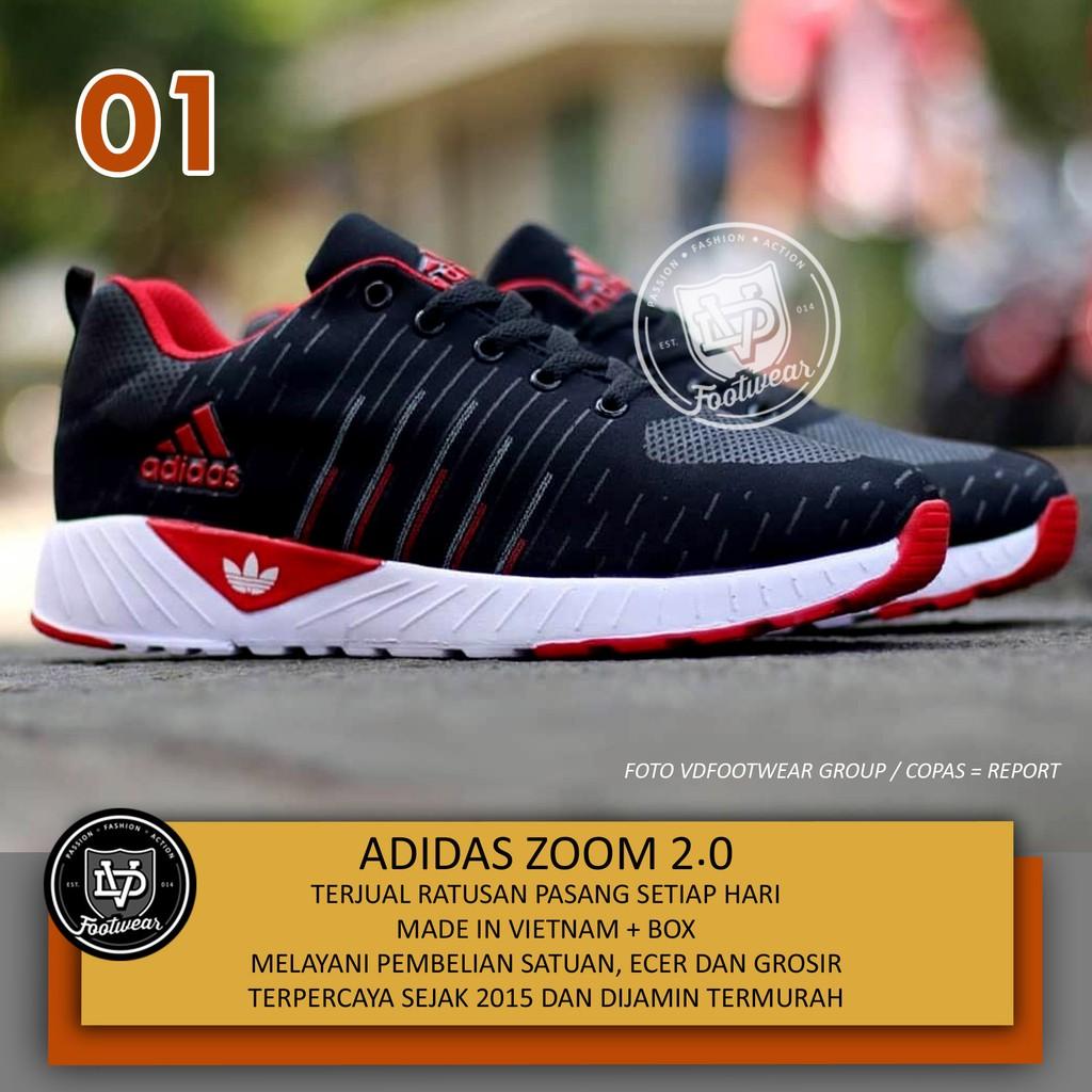 EXCLUSIVE SEPATU LARI RUNNING SHOES SNEAKERS PRIA MURAH - FOOTSTEP FUSION  NAVY  407755d3b0