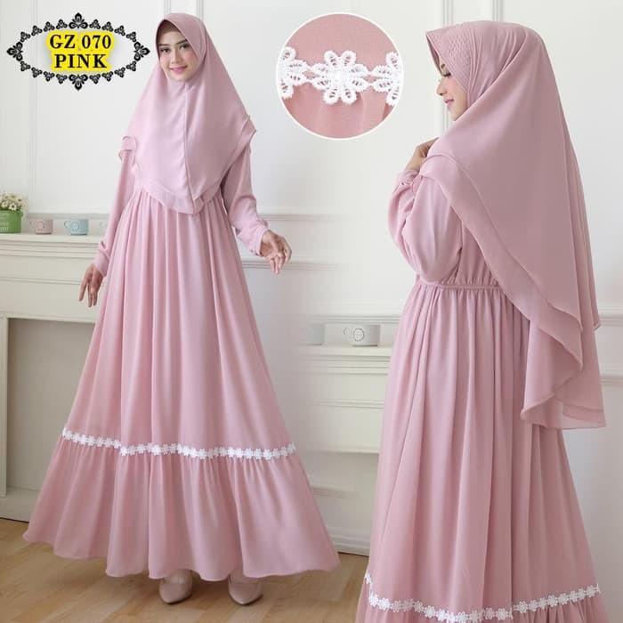Harga Gamis Ceruty Terbaik Atasan Muslim Wanita Fashion Muslim Maret 2021 Shopee Indonesia