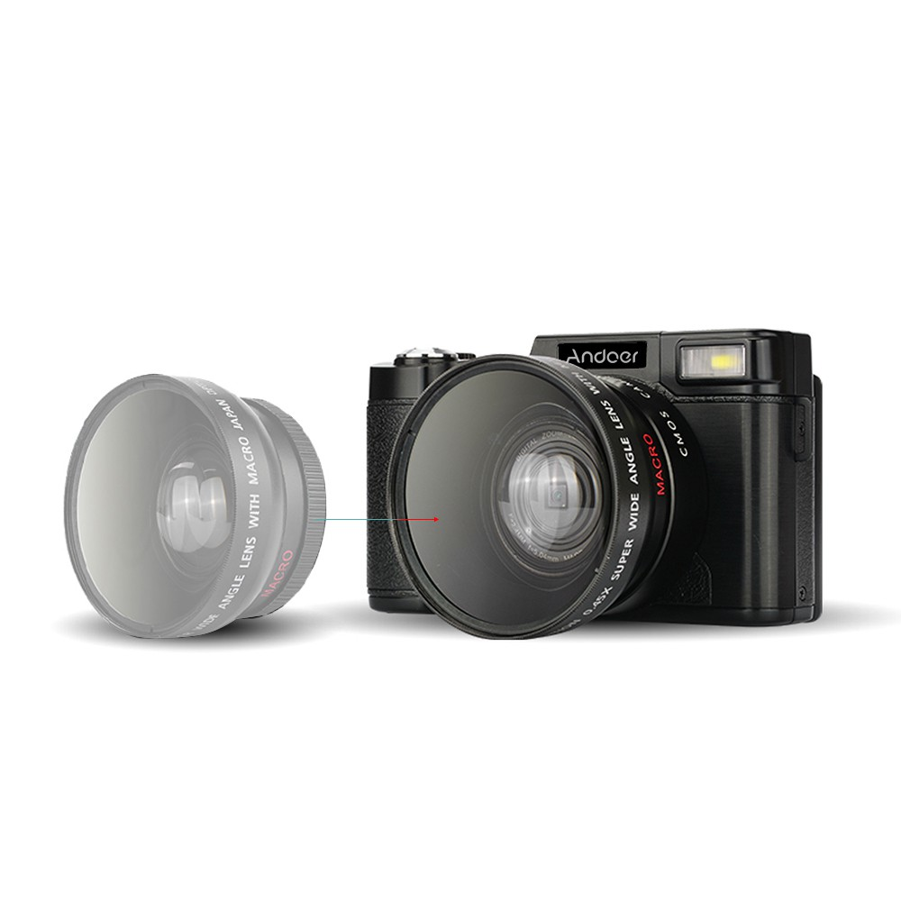 Bayar Di Tempat Kamera Andoer Cdr2 1080p Digital Full Hd 24mp Dengan 15fps Shopee Indonesia