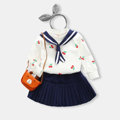 Rok Mini Anak Perempuan Gaya Eropa / Amerika Motif Bunga untuk Musim Panas   Shopee Indonesia