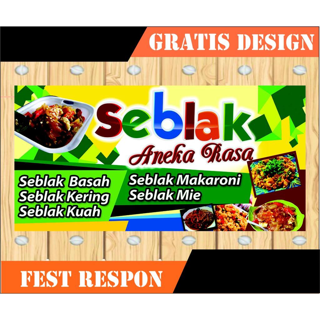 Download Gratis Contoh Banner Warung Seblak Full HD ...
