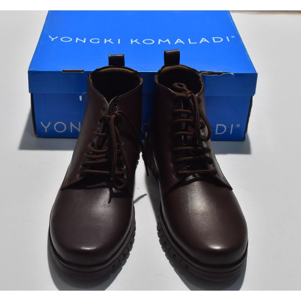 Sepatu Pria Yongki Komaladi Kopi AO68 ORIGINAL   REAL PICTURE 373299e6d4