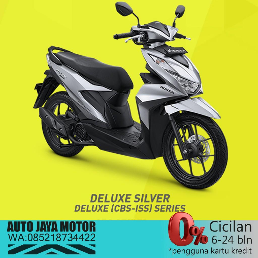 New Honda Beat Deluxe 2020 Cbs Iss Shopee Indonesia