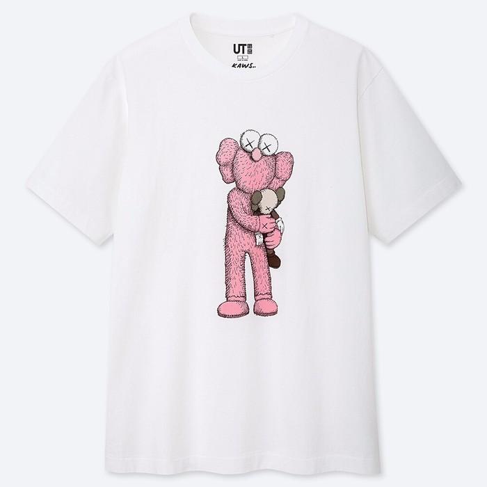 Uniqlo X Kaws Ut T Shirt Limited Summer 2019 Size Xs S M L Xl Shopee Indonesia
